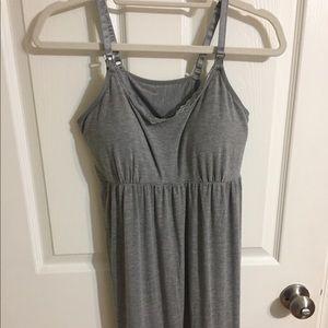 Clip-Down Nursing Nightgown